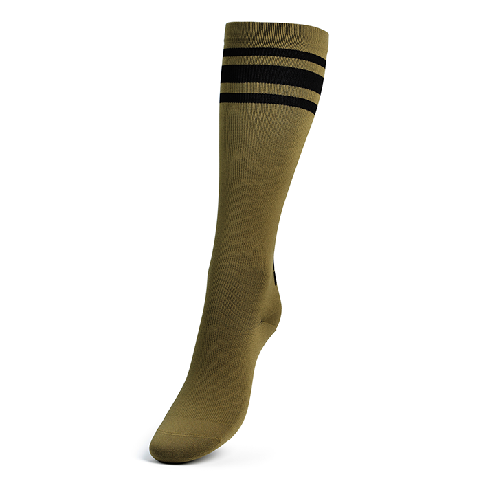 Knee Socks, Military Green