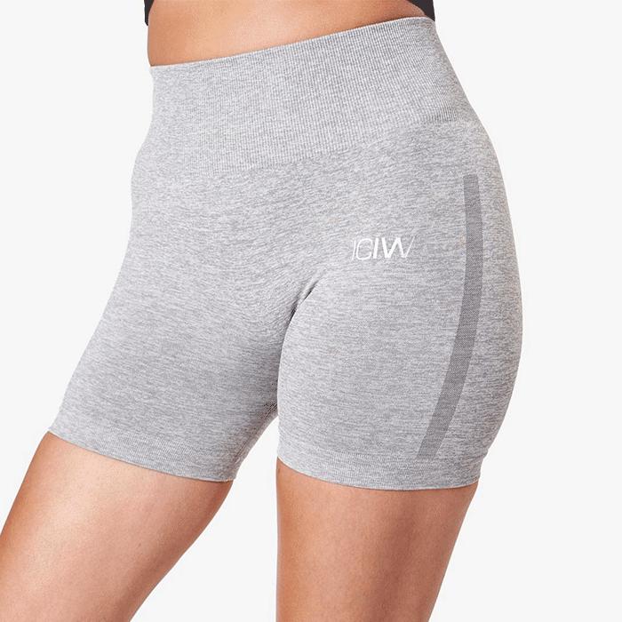 Queen Shorts, Light Grey Melange