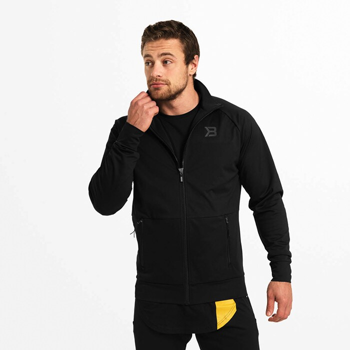 Varick Zip Jacket, Black
