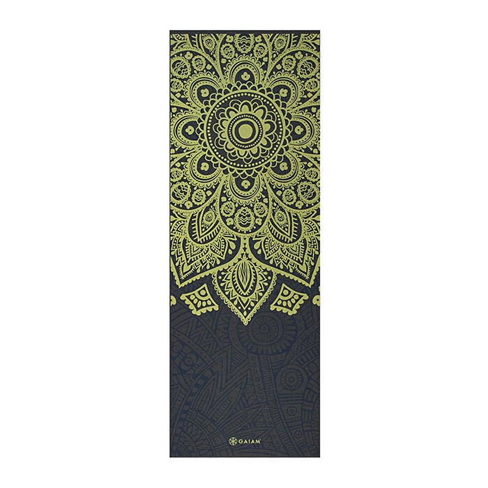 6mm Yoga Mat Sundial Layers