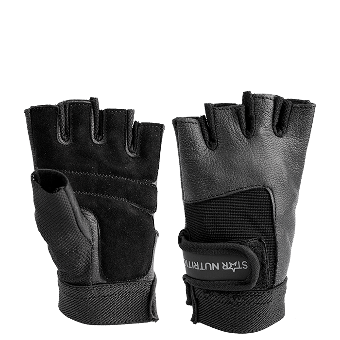 Star Nutrition Gym Glove, Black, Dam