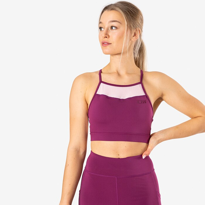 Breeze Sport Bra, Magenta