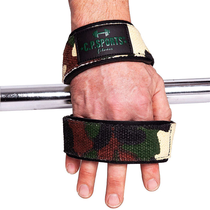 Figure 8 Straps - Lifting Loops, Green Camo, One Size