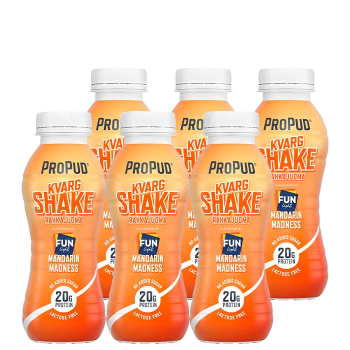 6 x ProPud Kvarg Shake, 330 ml