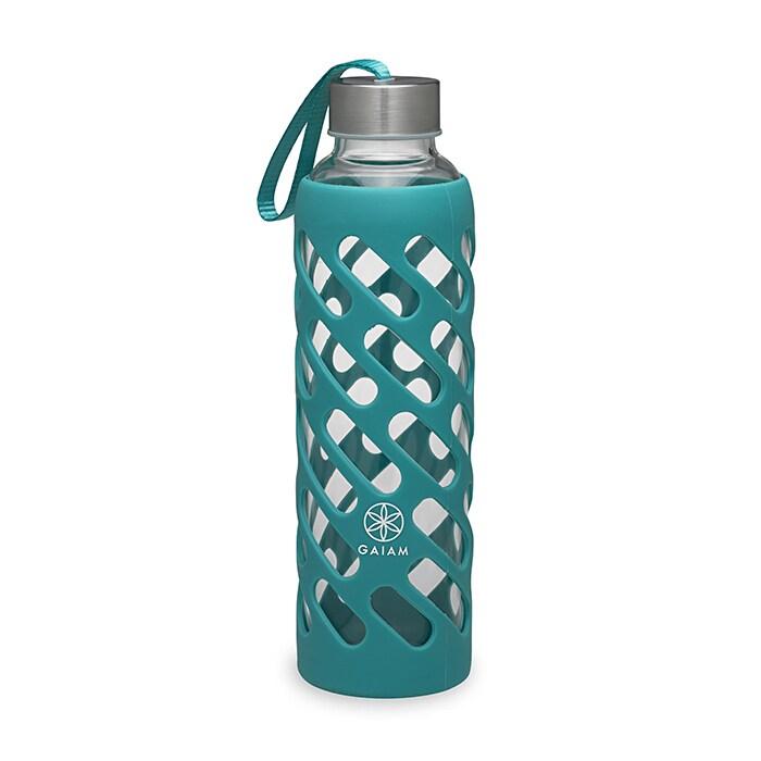 Sure-Grip Water Bottle, Viridian, 20 oz