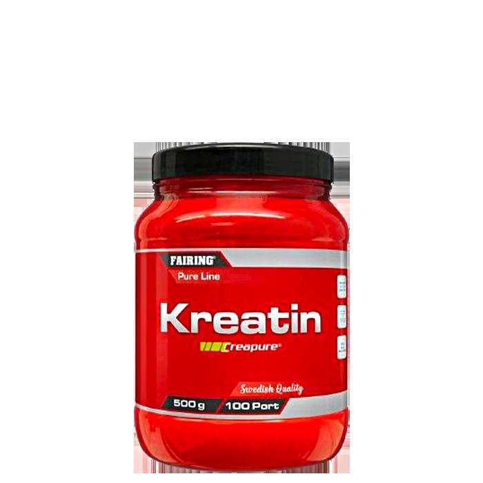 Kreatin Monohydrat, 500 g, Naturell