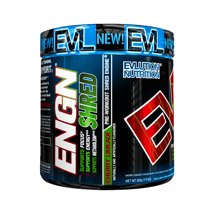 EVL Engn Shred Pre Workout, 30 servings
