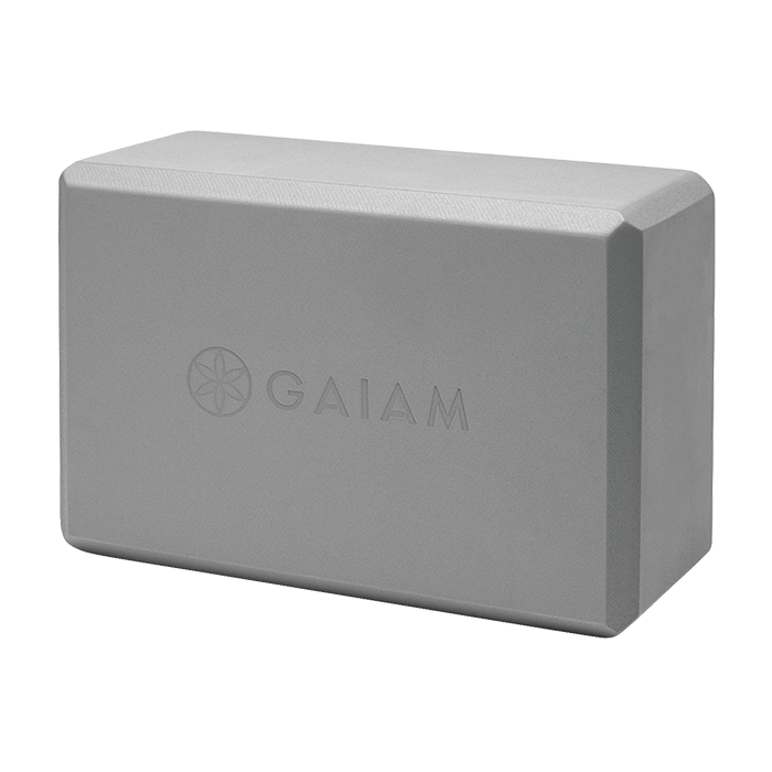 Gaiam Yoga Block Grå
