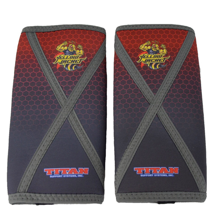 Titan Yellow Jacket Knee Sleeves IPF