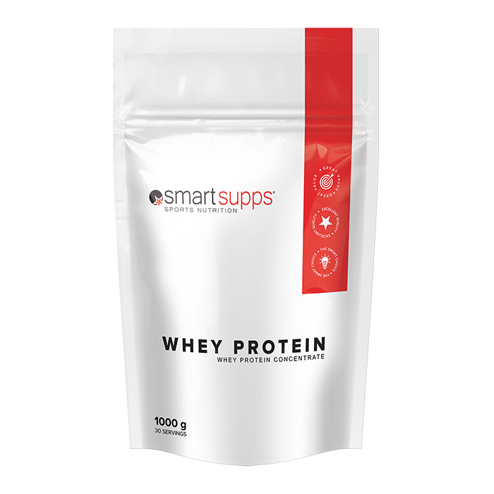 SmartSupps Whey Protein, 1 kg Strawberry