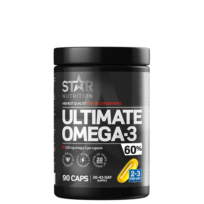 Ultimate Omega-3, 90 caps, 60% 1000mg