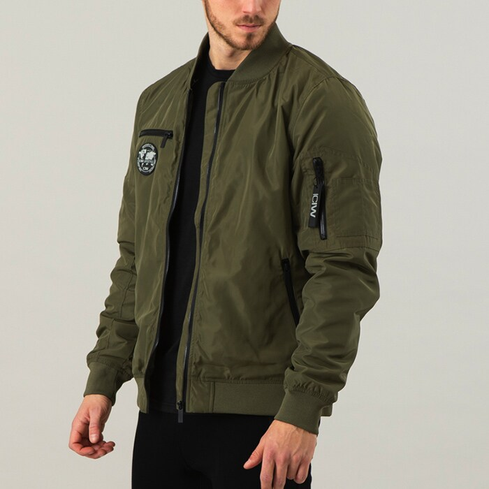 ICIW Bomber Jacket, Army Green