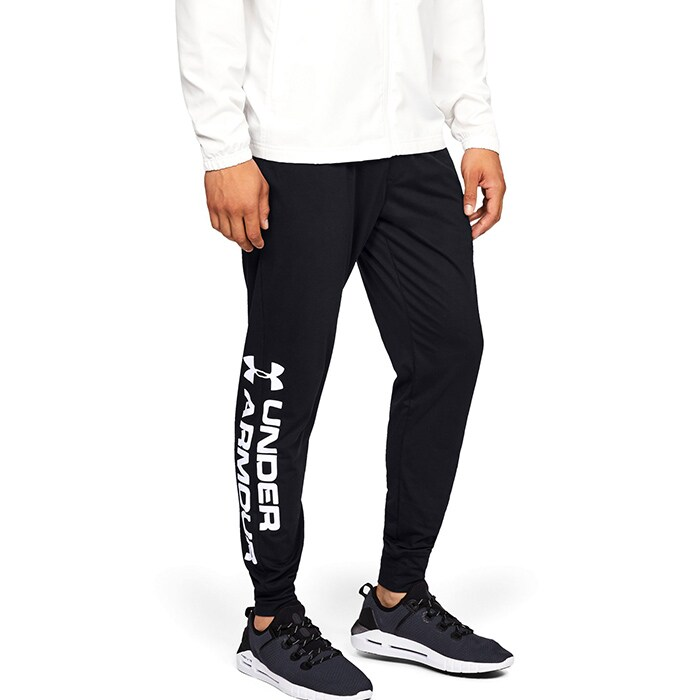 Sportstyle Cotton Graphic Jogger, Black