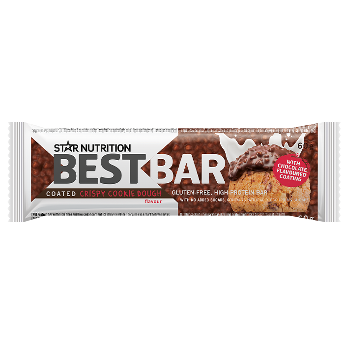 Best Bar, 60 g COATED Cookie Dough - (soft)