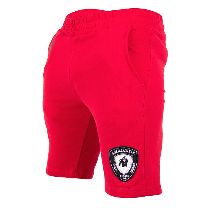 Los Angeles Sweat Shorts, Red