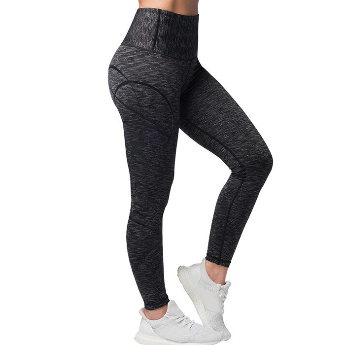 Cushy Soft Legging, Black/Grey