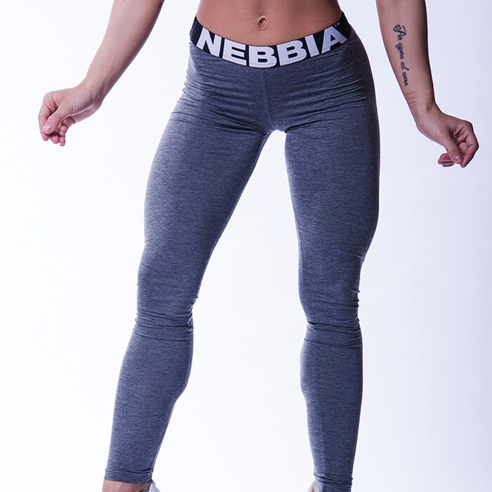 Nebbia Melange Tights, Grey