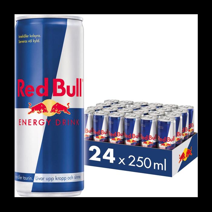 24 x Red Bull Energy Drink, 250 ml