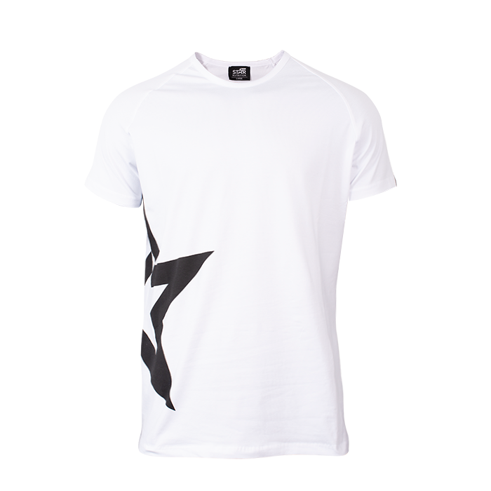 Star Nutrition Raglan T-shirt Star, White