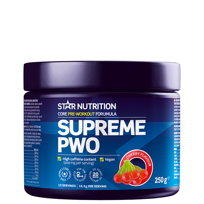Supreme PWO 250 g Cherry