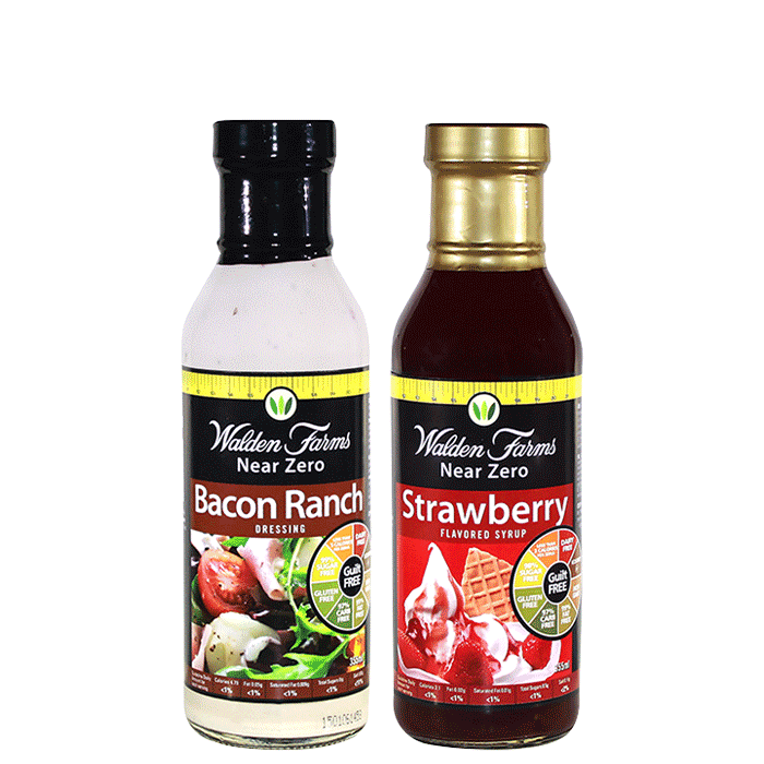 2 x Walden Farms products