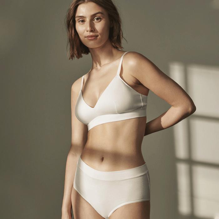 Cotton Boxer Jenny Skavlan, Natural