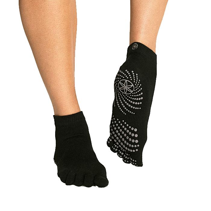 Black Grippy Yoga Socks