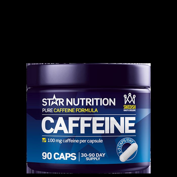 Caffeine 100 mg, 90 caps