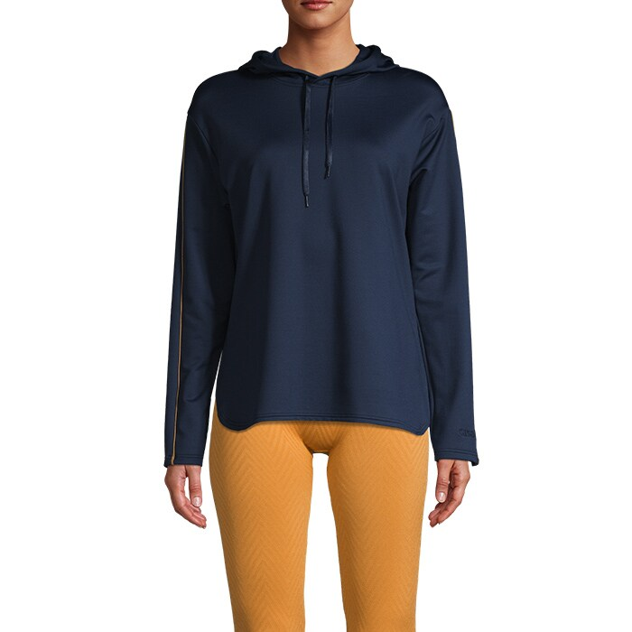 Conscious Gold Touch Sweater, Pushing Blue