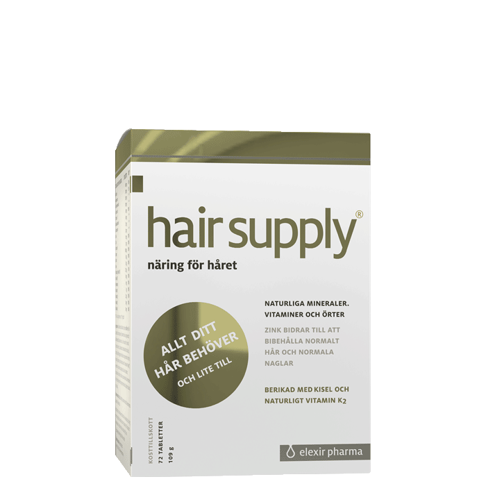 Hair Supply, 72 tabletter