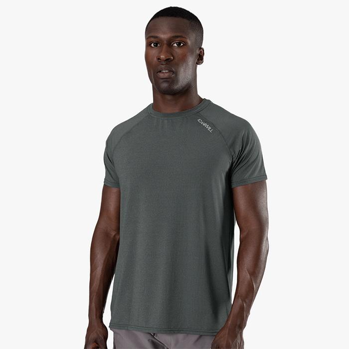 Workout Melange T-shirt, Dark Green