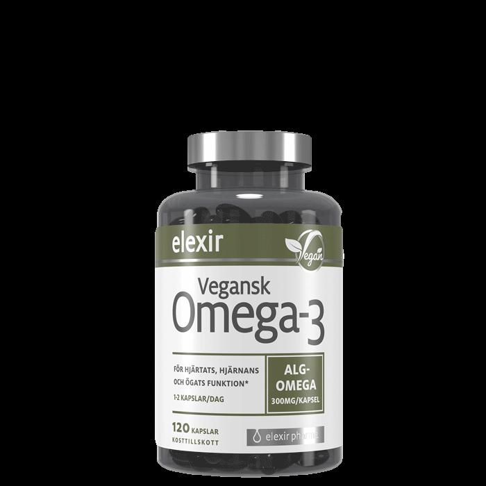 Vegansk Omega-3, 120 kapslar