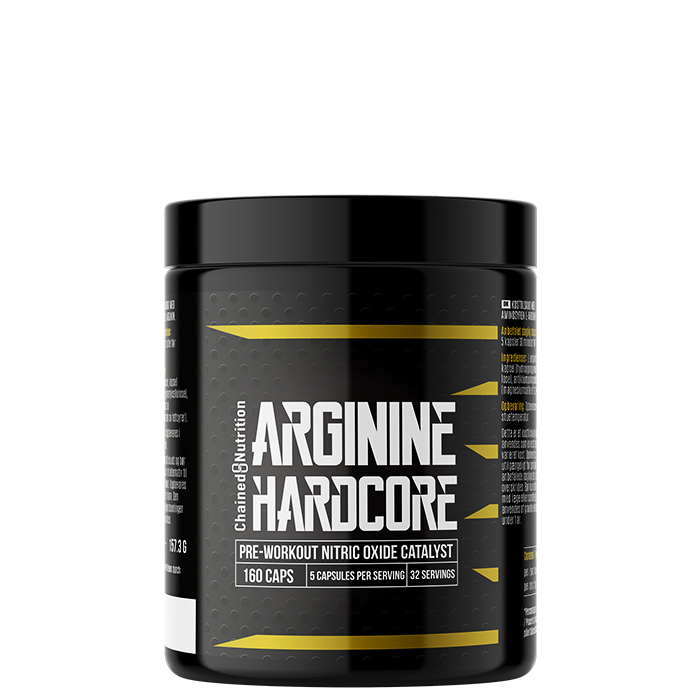 Arginine Hardcore, 120 XL-caps