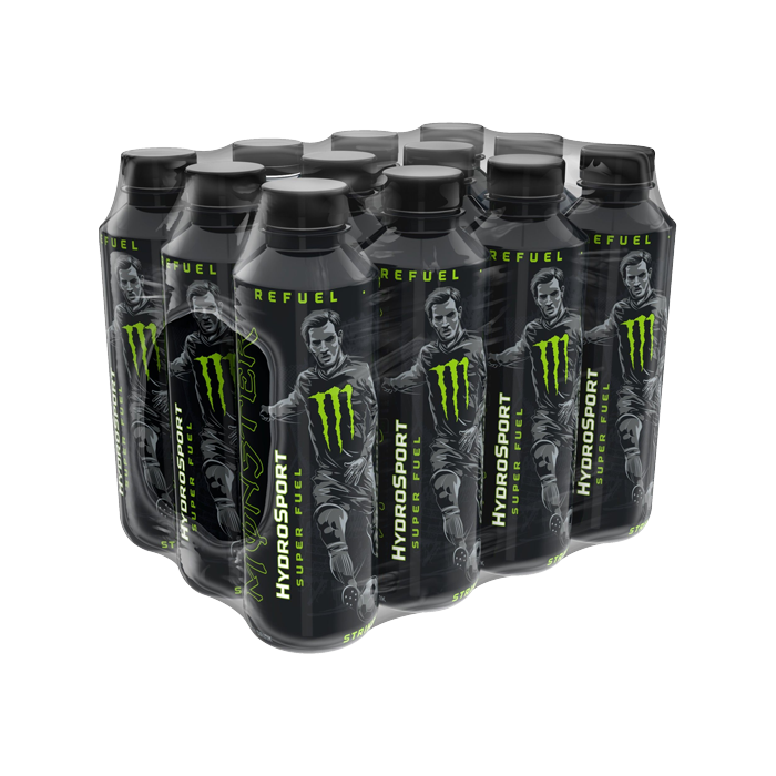12 x Monster Hydro Sport, 65 cl
