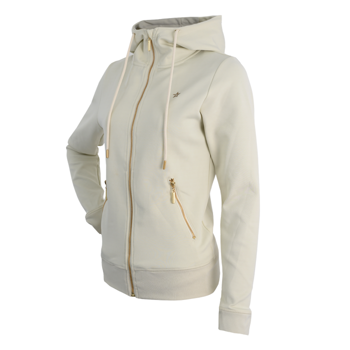 Star Premium WCT Zip Hood, Off-White/Olive