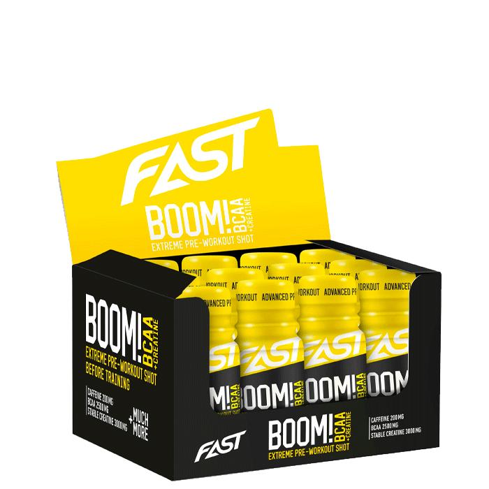12 x FAST Boom! BCAA shot, 60 ml