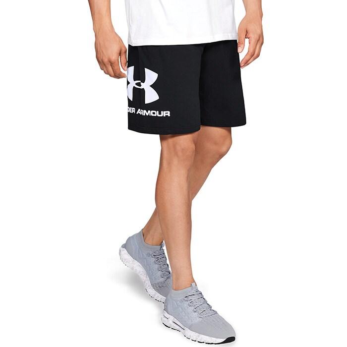 Sportstyle Cotton Logo Short, Black