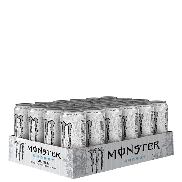 24 x Monster Energy Ultra, 355 ml, Slim White