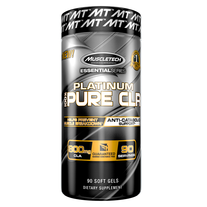 100% Platinum CLA, 90 gels