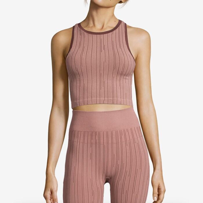 Seamless Line Top, Trigger Pink