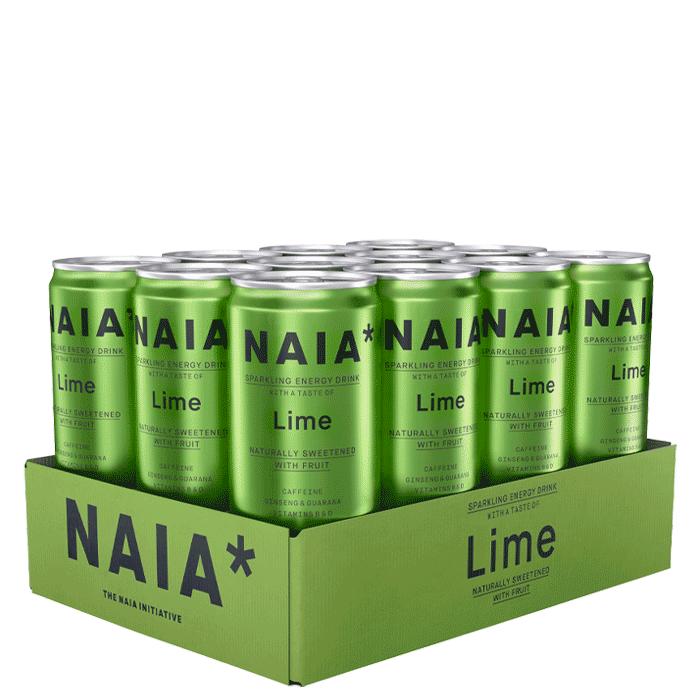 Bild av 12 x NAIA Energy Drink, 330 ml