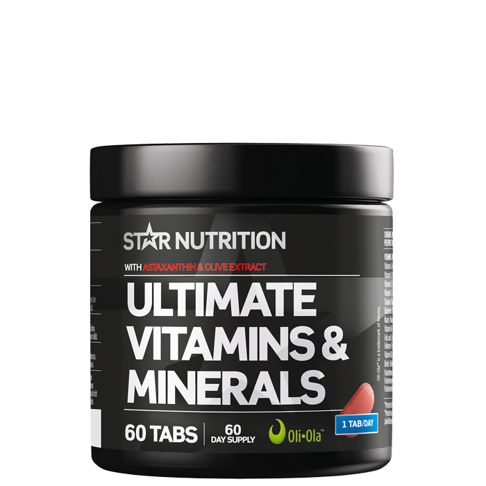 Ultimate Vitamins & Minerals, 60 tabletter