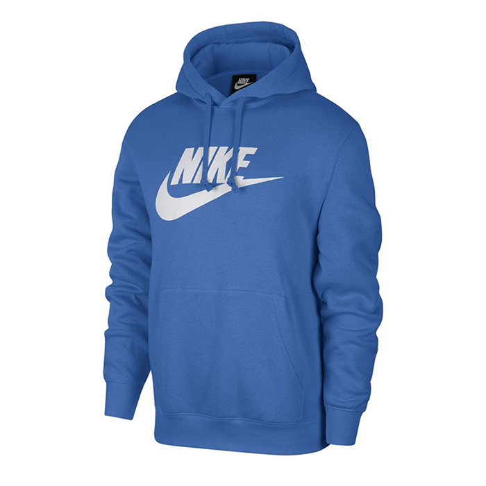 Nike Club Hoodie Pull Over, Pacific Blue