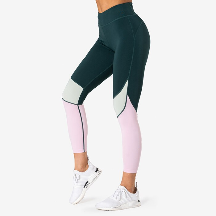 Empowering Tights, Pine Green