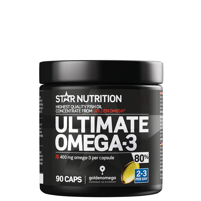 Ultimate Omega-3, 80%, 90 caps