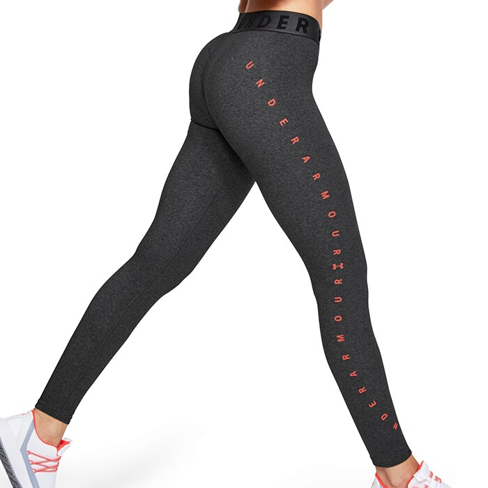 Favorite Graphic Legging, Charcoal Light Heather