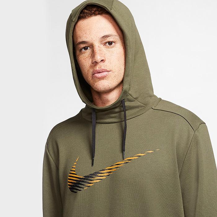 Nike Dry Hoodie Pull Over, Khaki