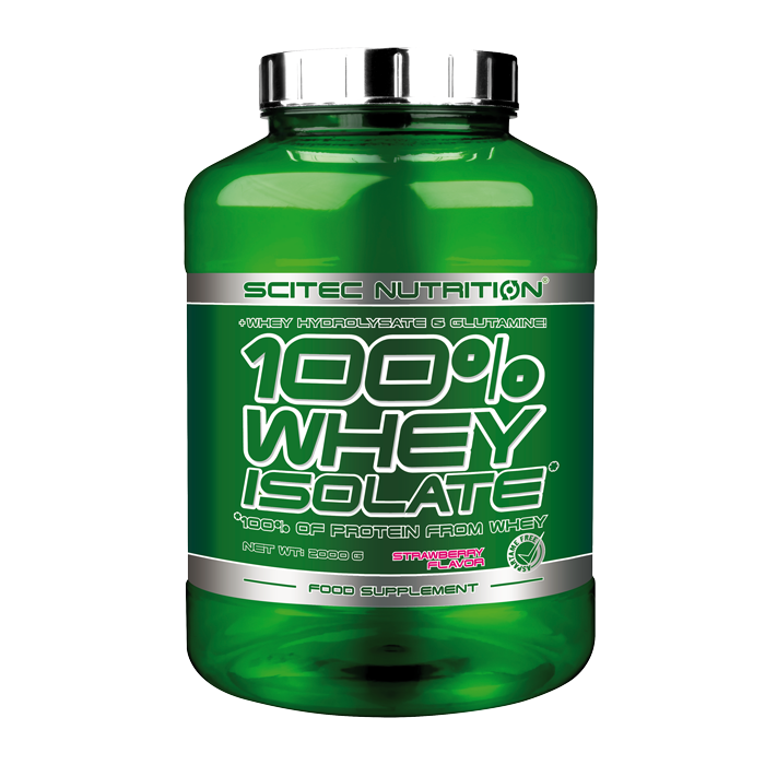 100 % Whey Isolate 700g Strawberry