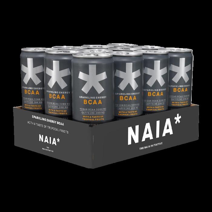 Bild av 12 x NAIA Energy BCAA, 330 ml