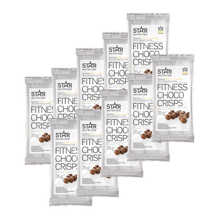 Protein Choco Crisps BIG BUY, 350 g